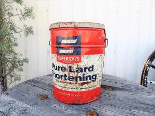 ビンテージ SUPERIOR'Sラード缶