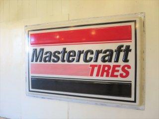ビンテージ Mastercraft Tires 特大サイン