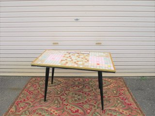 ビンテージ  60's タイルトップコーヒーテーブル