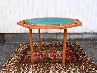 ビンテージ オクタゴンゲームテーブル
