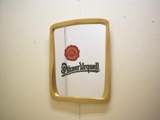 ビンテージ  Pilsner Lrquell パブミラー