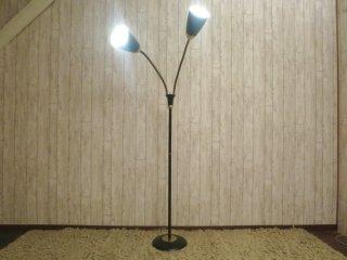 ビンテージ 50's 2灯スポットフロアランプ