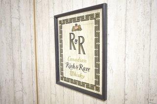 ビンテージ Rich&Rare パブミラー