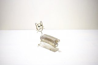 ビンテージ 猫モチーフ メモホルダー