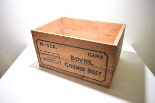 ビンテージ  BOVRIL 木箱