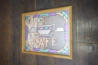 ビンテージ CAFE パブミラー