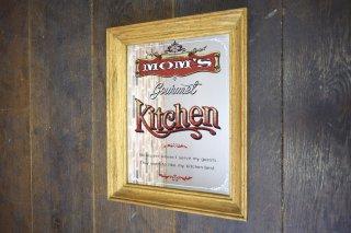 ビンテージ MOM'S Kitchen パブミラー