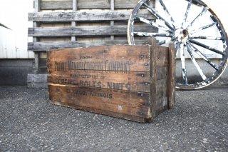 ビンテージ PHENOL MANUFACTURING CO. 木箱