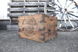 ビンテージ WASKOW BUTTER CO. 木箱