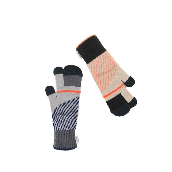 TRICOTE/【men's】stripe gloves-40%off