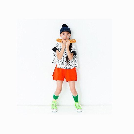 franky grow/【kid's】 bicolor highsocks