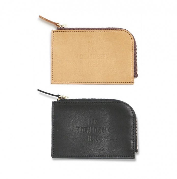 HideandSeek FOR H.S. Leather Cion Wallet