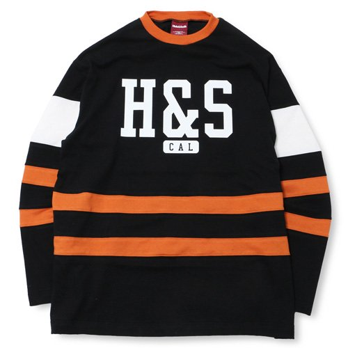 <img class='new_mark_img1' src='//img.shop-pro.jp/img/new/icons14.gif' style='border:none;display:inline;margin:0px;padding:0px;width:auto;' />HideandSeek H&S Hockey Shirt