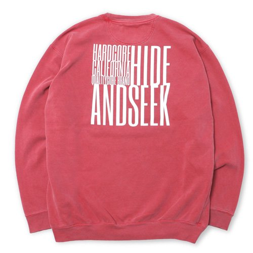 <img class='new_mark_img1' src='//img.shop-pro.jp/img/new/icons14.gif' style='border:none;display:inline;margin:0px;padding:0px;width:auto;' />HideandSeek Box Sweat Shirt
