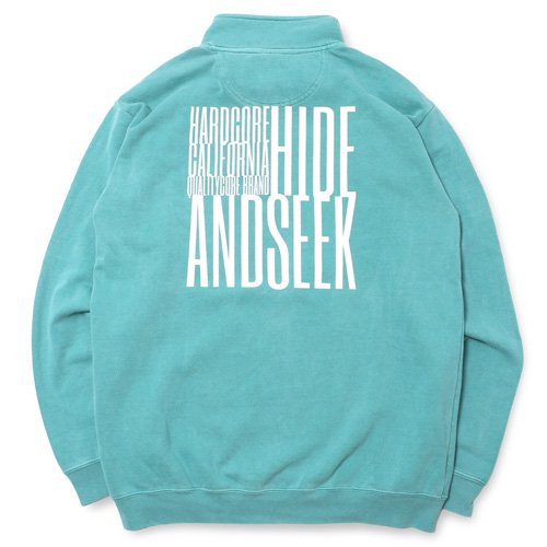 <img class='new_mark_img1' src='//img.shop-pro.jp/img/new/icons14.gif' style='border:none;display:inline;margin:0px;padding:0px;width:auto;' />HideandSeek Box Half Zip Sweat