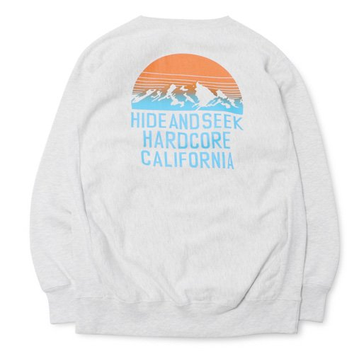 <img class='new_mark_img1' src='//img.shop-pro.jp/img/new/icons14.gif' style='border:none;display:inline;margin:0px;padding:0px;width:auto;' />HideandSeek Mountain Sweat Shirt