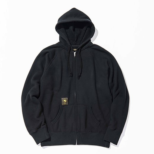 RATS FLEECE ZIP PARKA
