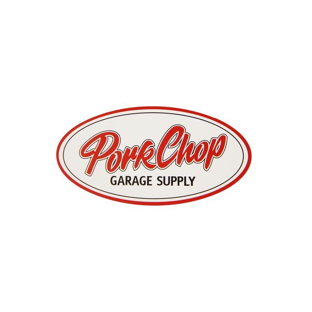 <img class='new_mark_img1' src='//img.shop-pro.jp/img/new/icons14.gif' style='border:none;display:inline;margin:0px;padding:0px;width:auto;' />PORKCHOP GARAGE SUPPLY / PORKCHOP OVAL STICKER (SMALL)