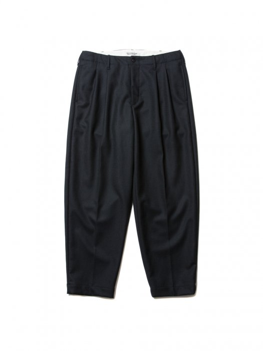 <img class='new_mark_img1' src='//img.shop-pro.jp/img/new/icons14.gif' style='border:none;display:inline;margin:0px;padding:0px;width:auto;' />COOTIE / Wool 2 Tuck Trousers