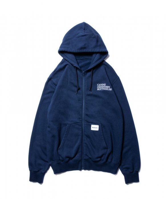 <img class='new_mark_img1' src='//img.shop-pro.jp/img/new/icons14.gif' style='border:none;display:inline;margin:0px;padding:0px;width:auto;' />ROTTWEILER / Zip Sweat Parka