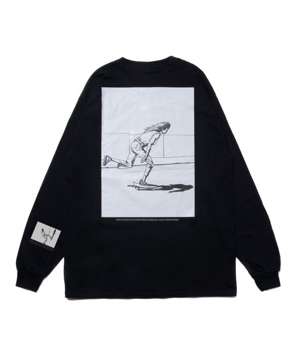 ROTTWEILER / TadanobuAsano×Rottweiler Skater LS Tee