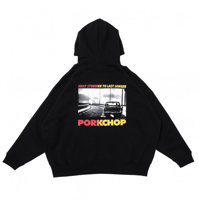 <img class='new_mark_img1' src='https://img.shop-pro.jp/img/new/icons14.gif' style='border:none;display:inline;margin:0px;padding:0px;width:auto;' />PORKCHOP GARAGE SUPPLY / C-10 PHOTO HOODIE