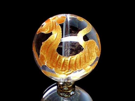 金彫四神【白虎】本水晶 10ミリ〜20ミリ