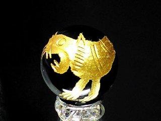 金彫四神獣【白虎】 オニキス 10ミリ〜20ミリ