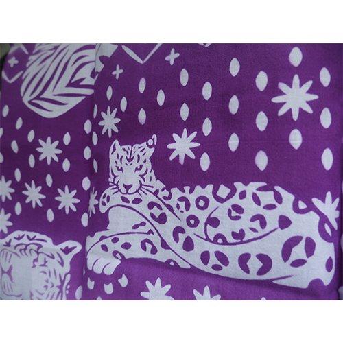 【予約販売】お財布対応 ネコカキリコ 紫 とことわ