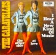 THE CARAVELLES-I HEAR A NEW KIND OF MUSIC[disques vogue/ger]'68/2trks.7 Inch *edge wear(vg+/ex-)
