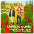 DAVID Y SONIA - MENTIRAS DE PAPEL[top records/spain]'73/2trks.7 Inch promo/white label (vg+/vg++)