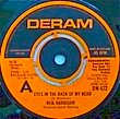 NEIL HARRISON - EYES IN THE BACK OF MY HEAD[deram/uk]'74/2trks.7 Inch