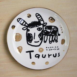【ギフト】studio coote スタジオクート 小西慎一郎 星座プレート Taurus/牡牛座