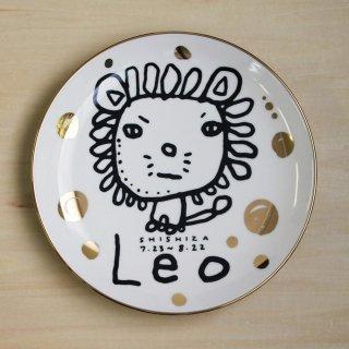 【ギフト】studio coote スタジオクート 小西慎一郎 星座プレート Leo/獅子座