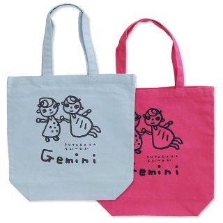 【メール便OK】studio coote スタジオクート 小西慎一郎 12星座 トートバッグ キャンバス地 Mサイズ 10リッター Gemini 双子座