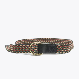 Raise8apparel COTTON TAPE BELT - ORANGE