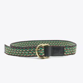 Raise8apparel COTTON TAPE BELT - GREEN