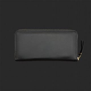 Raise8apparel LEATHER WALLET - BLACK