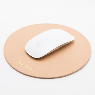 Mousepad New York Metal / Genuine Leather ITALY