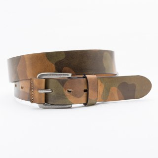 Basic[Camo] / 34mm Genuine Leather ITALY