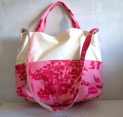 2way tote bag  Stella pink