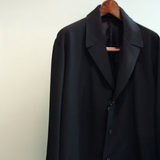 YOHJI YAMAMOTO タブ付きシャツジャケット(HR-J15-100)BLK