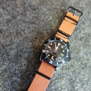 VAGUE WATCH BLK SUB(BS-L-N002)