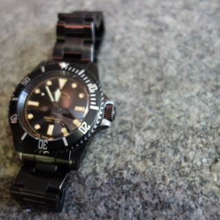 VAGUE WATCH BLK SUB(BS-L-001-SB)