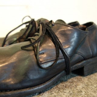 GUIDI HORSE FULL GRAIN DERBY SHOES 992