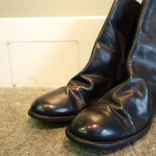GUIDI HORSE FULL GRAIN BACK ZIP BOOTS 988