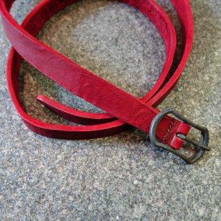 incarnation buffalo double bend belt 1 buckle(31318-8341)RED