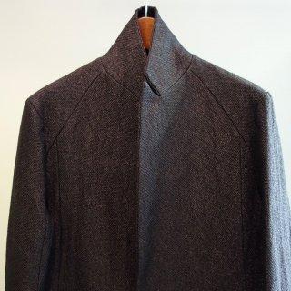 bajra 和紙平二重織 ロングジャケット(121BJ04)
