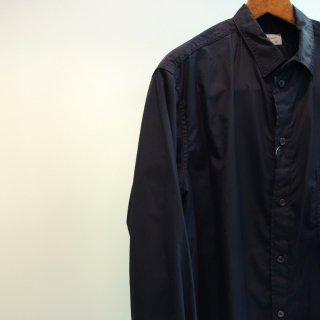 YOHJI YAMAMOTO 定番台襟環縫いシャツ(HD-B01-001)BLK
