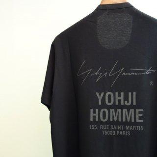 YOHJI YAMAMOTO スタッフプリント Tシャツ(HK-T40-082)